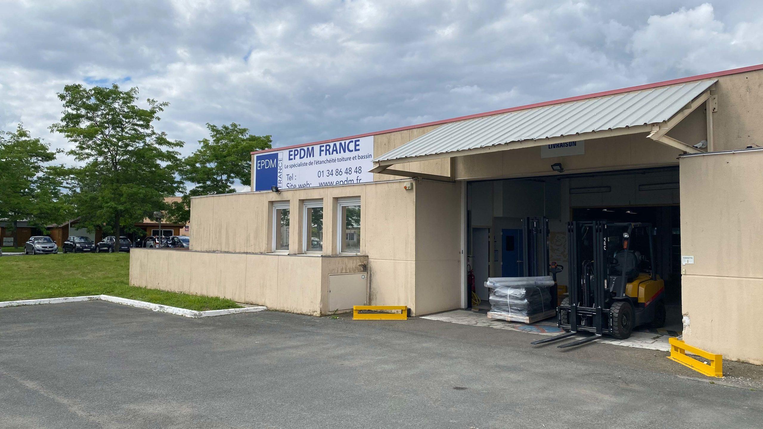 image du depot EPDM France